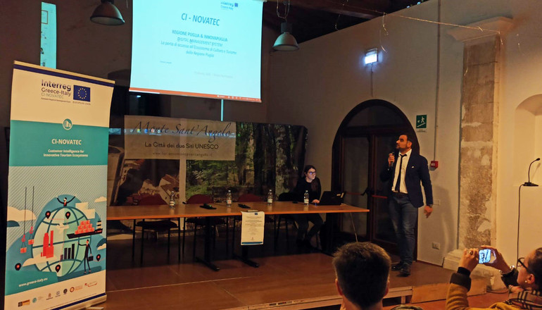 Innovative tourism ecosystems in Puglia: meeting with the stakeholders of the project CI-NOVATEC